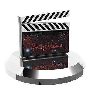 Motion Graphics Transparent Icon VSGFX