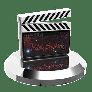 Motion Graphics Transparent Icon VSGFX