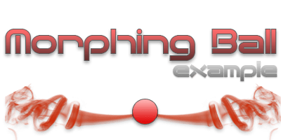 red morphing ball on VSGFX