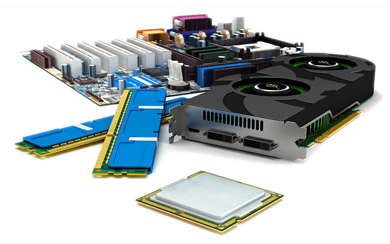 image of computer parts