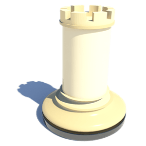 3D animation services - Rook chess final concept